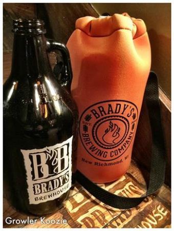 Brady's Brewhouse: Growler and Koozie