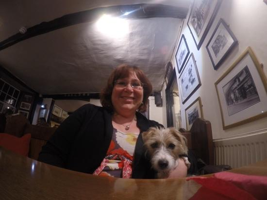 The Ship Inn: great dog frendly enviroment with first class food.