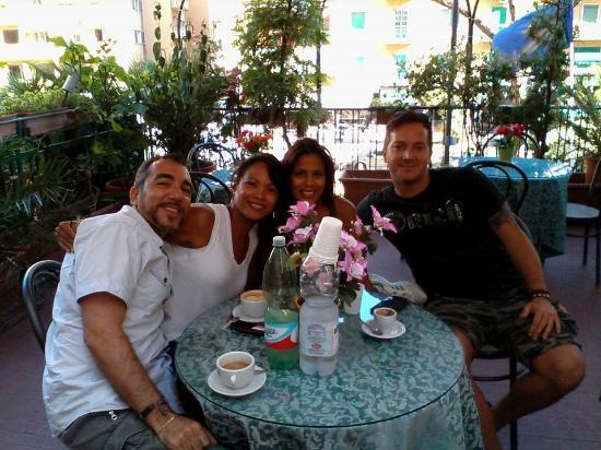 Hotel Cesare Augusto: Caffè in terrazza