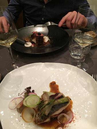 Aromatique Restaurant : Plat
