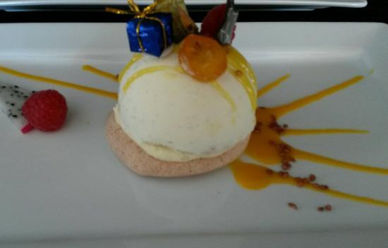 Restaurant Natur'élément : Dôme choco mangue