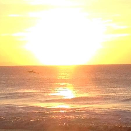 Hotel Luz de Mono: sunset, watch from room or from beach!