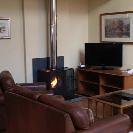 Luxury Woodland Lodges at Macdonald Aviemore Resort: great fire