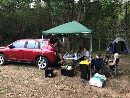 Hosanna Farmstay : Our Campsite