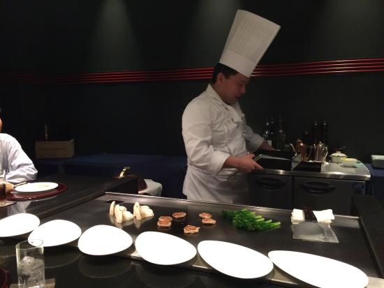 Teppanyaki Ittetsu Grandeur: 2nd Course on the grill