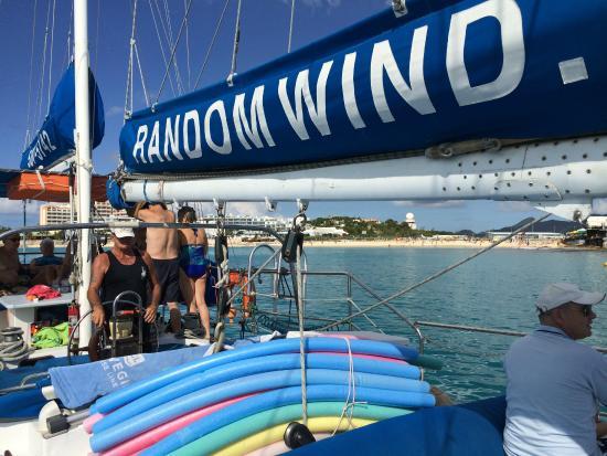 Simpson Körfezi, St-Martin / St Maarten: The Random Wind