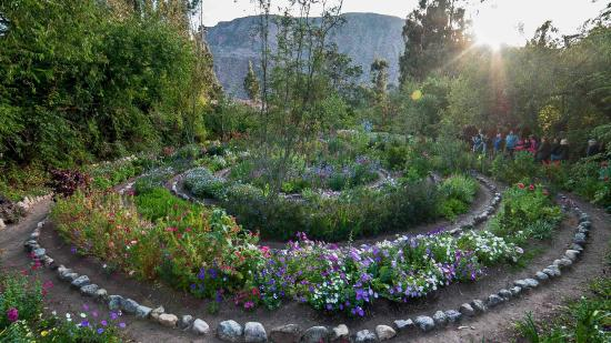 Willka T'ika Luxury Wellness Retreat: Spiral Garden