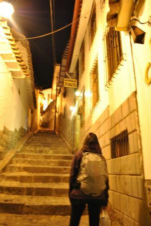 Hostal Resbalosa: As escadarias