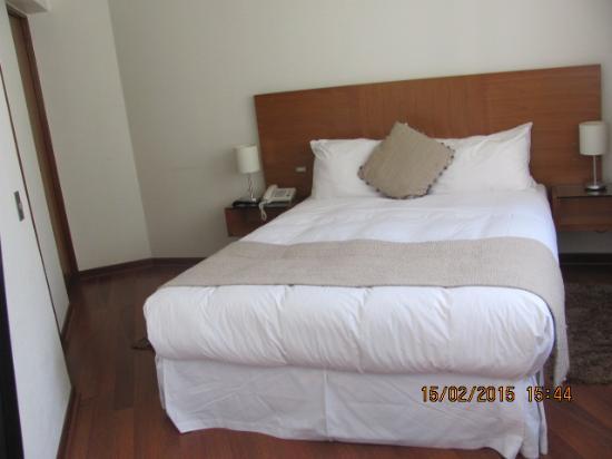 Time Apartments: Cama confortável