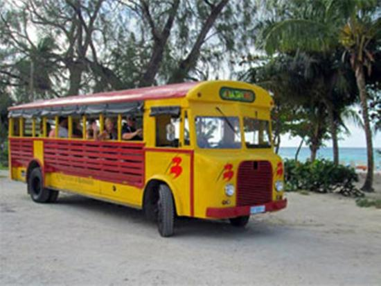Saint Michael Parish, Barbados: Jitney in great shape