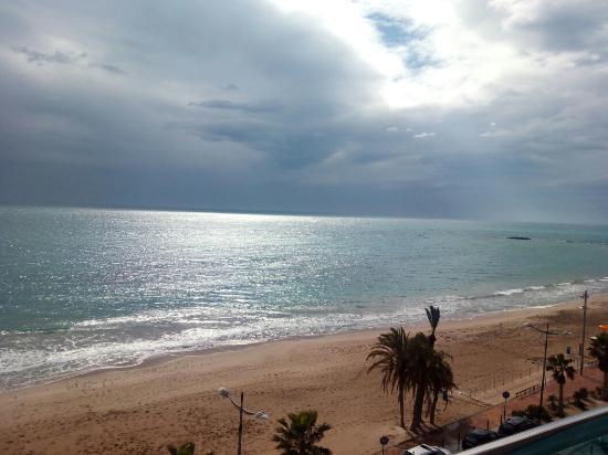 Allon Mediterrania Hotel: Vistas desde la habitación