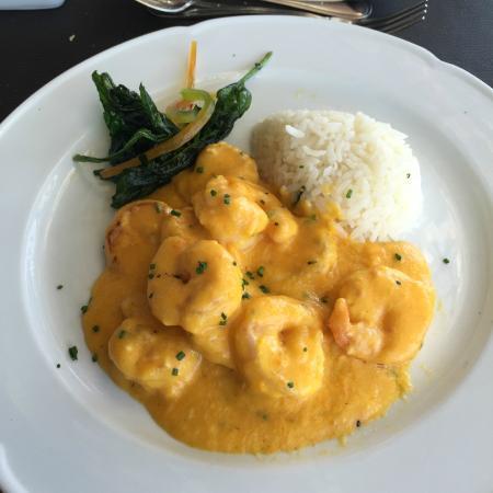 Giratorio Restaurant: Camarão sempre boa pedida.