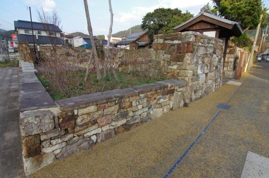 Remains of Old Samurai Residences