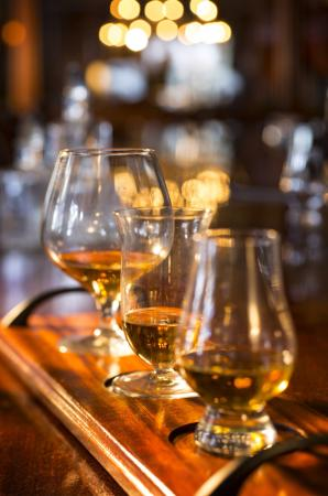 The View Restaurant at the Mirror Lake Inn : Scotch Flight