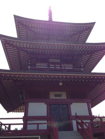 Lahaina Jodo Mission: 三重の塔