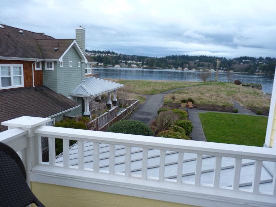 Port Ludlow, WA: View from balcony