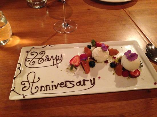 Happy Anniversary Picture Of Mosmans Restaurant Mosman