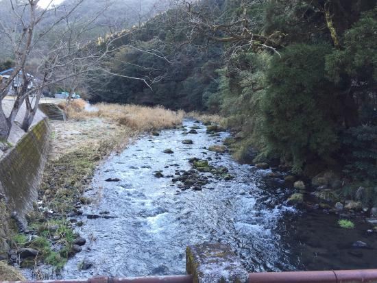 Myoken Tanaka Kaikan : 田中会館そばの橋より。
