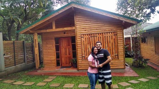 Cabanas Ybype: Chalé que ficamos