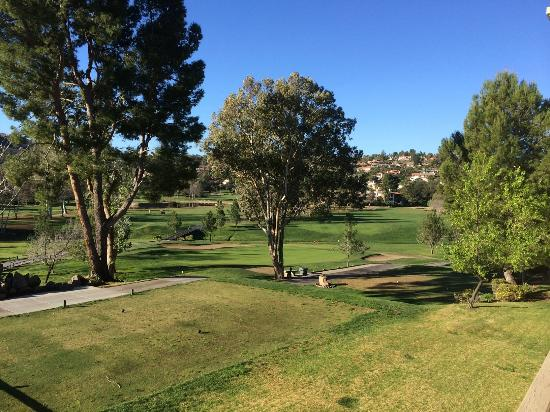 San Vicente Golf Resort: View from the balcony