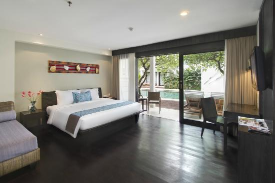 The Camakila Legian Bali: Deluxe Poolside Room