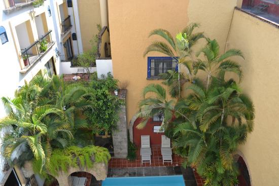 Hotel de Mendoza: Vista desde habitación 304