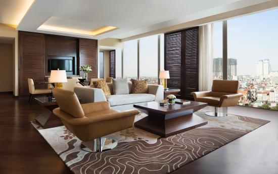 JW Marriott Hotel Hanoi: Grand Suite _ Living Room
