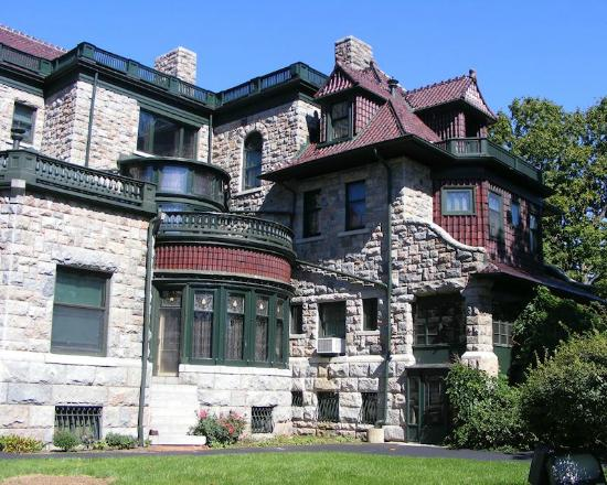 The History Museum: Oliver Mansion, a very impressive home, and a great history lesson.