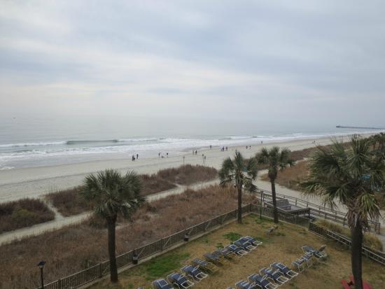 Indigo Inn: Ocean view from balcony