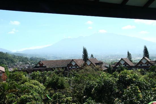 Royal Orchids Garden Hotel: View Pegunungan