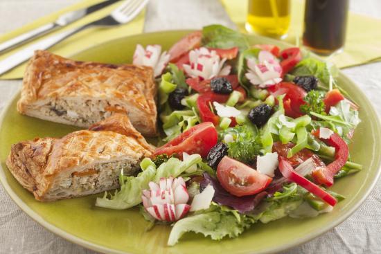 La Table des Saisons: Coulibiac de saumon