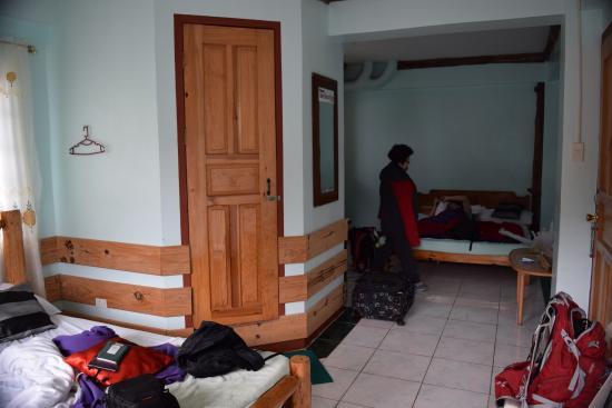 Masferre Country Inn and Restaurant : Our room (3 beds)