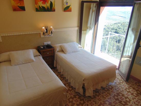 Sierra de Araceli: desde la habitación impresionantes vistas al parque de la Subbetica