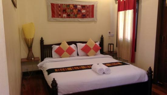Villa Champa: Bed!