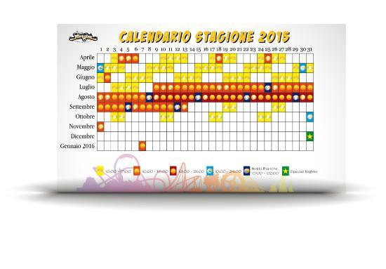 Molfetta, Ιταλία: Calendario stagione 2015 - Miragica