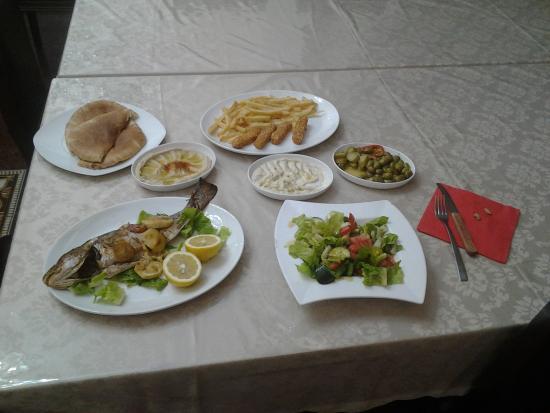 Hotel Casa de Maria: Abendessen für 1Pers.