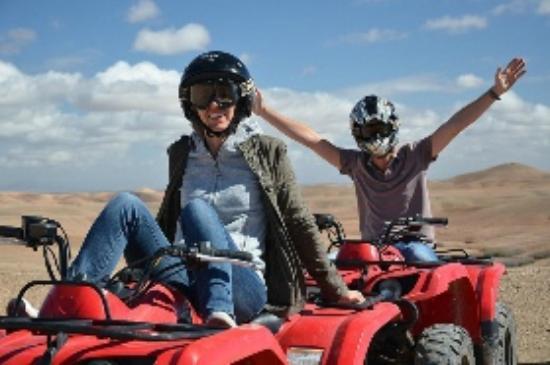 Dunes & Desert Exploration : Quad with Dunes & Desert