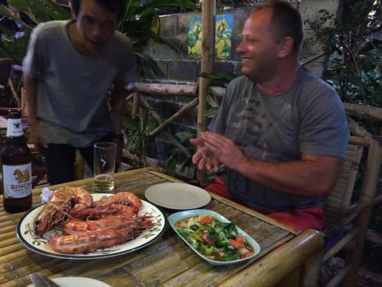 Chotaha Restaurant: Der Chef ist selbst noch von der Größe überrascht, ich auch ...
