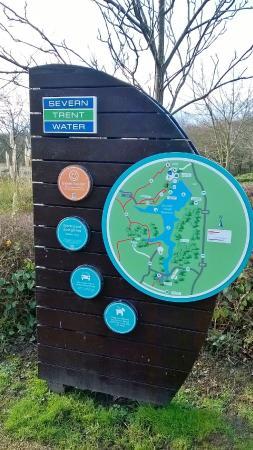 Staunton Harold Reservoir: Information Board