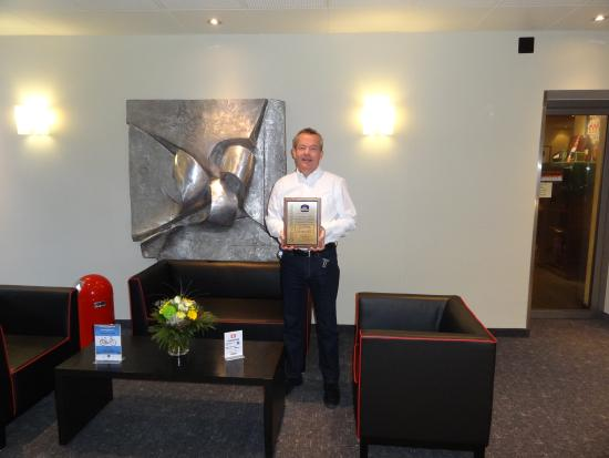 بست ويسترن هوتل يوروهوتل وورتمان: Quality & Service Award!