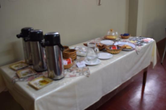 Marangatu: Café da manhã