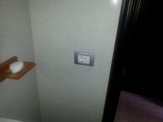 Plug Socket In Bathroom Picture Of Santa Rosa Costa