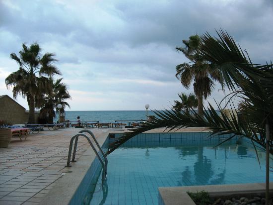 Seafront Apartments : Между отелем и морем только маленький бассейн