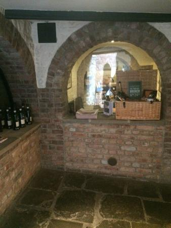 Wine Cellar Between Bar & Reception - Picture of Hotel du Vin ...
