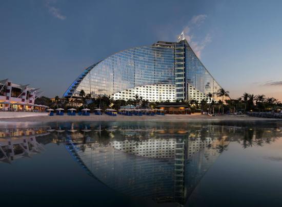 Jumeirah Beach Hotel: Extended Beach View