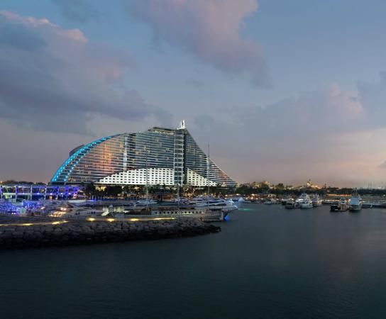Jumeirah Beach Hotel: The Pavilion Marina
