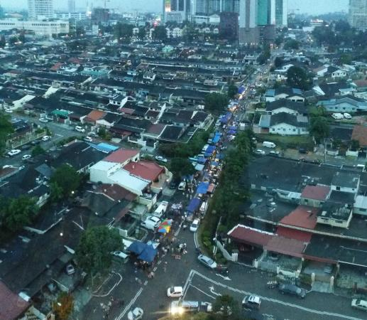 Monday Night Market,View From 2 Bedroom Apartment