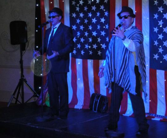 Nailcote Hall Hotel and Golf Club: Blues Brothers dinner night