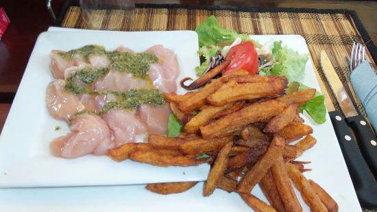 L'Annexe : Pierrade de poulet à 14 euros