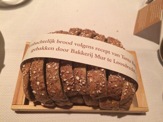 Bread baked locally from Tante Koosjes recipe